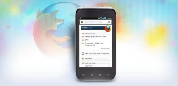Firefox 8 for android 600x292