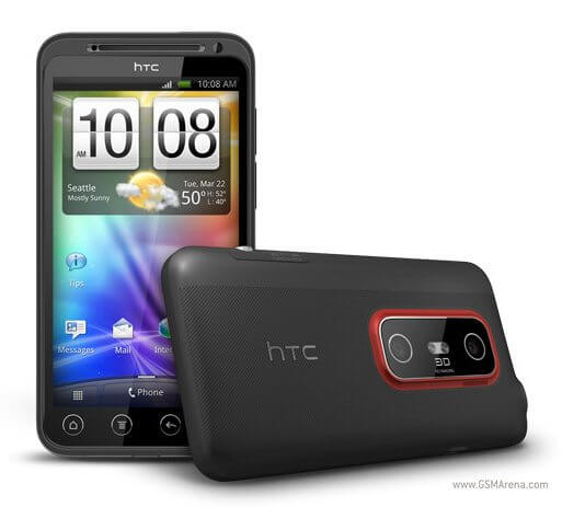 Review: smartphone HTC EVO 3D