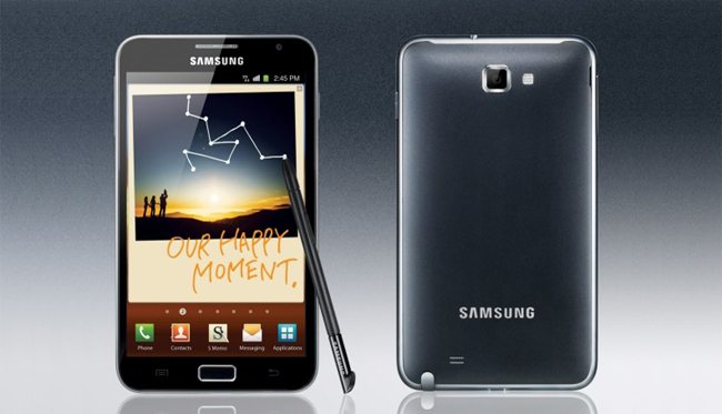Galaxy Note - Review do Samsung Galaxy Note: grande demais?