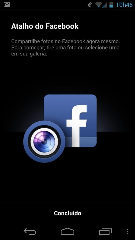 Facebook 1.9 update atualização ICS - Aplicativo do Facebook é atualizado com novo recurso para Câmeras