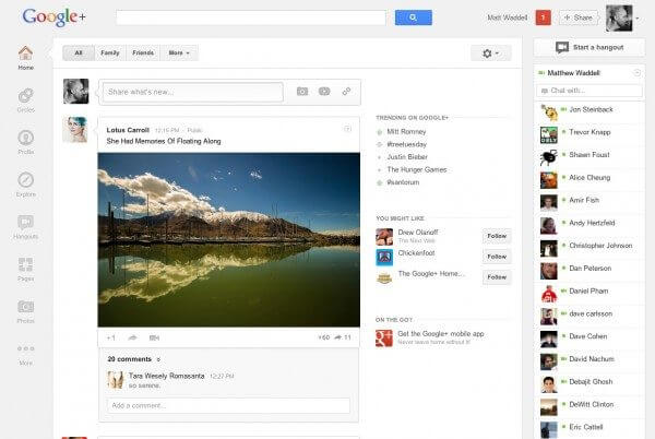 Google plus interface hero 600x402