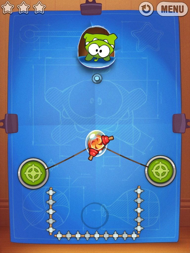 cut the rope experiments screenshot 1 - Só hoje: Cut The Rope Experients de graça na App Store