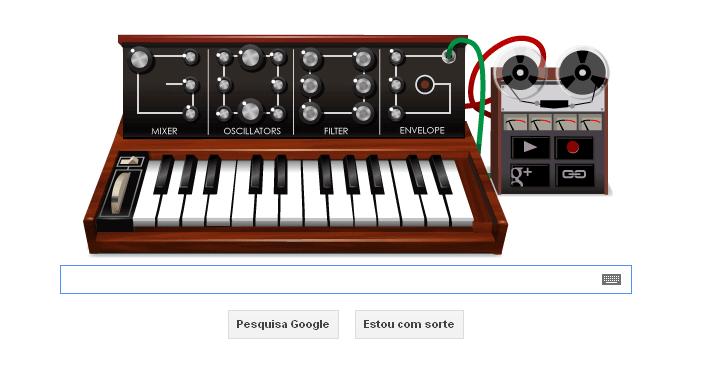 Google homenageia pai do sintetizador