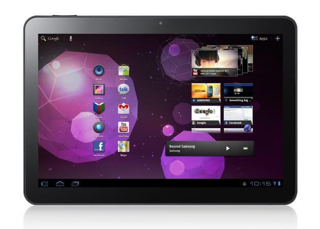 Vendas do Galaxy Tab 10.1 são suspensas nos EUA