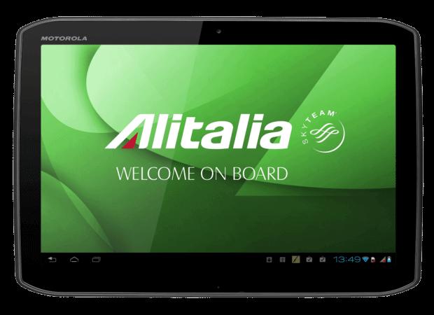 Companhia aérea italiana utilizará tablets Android como sistema de entretenimento em vôos