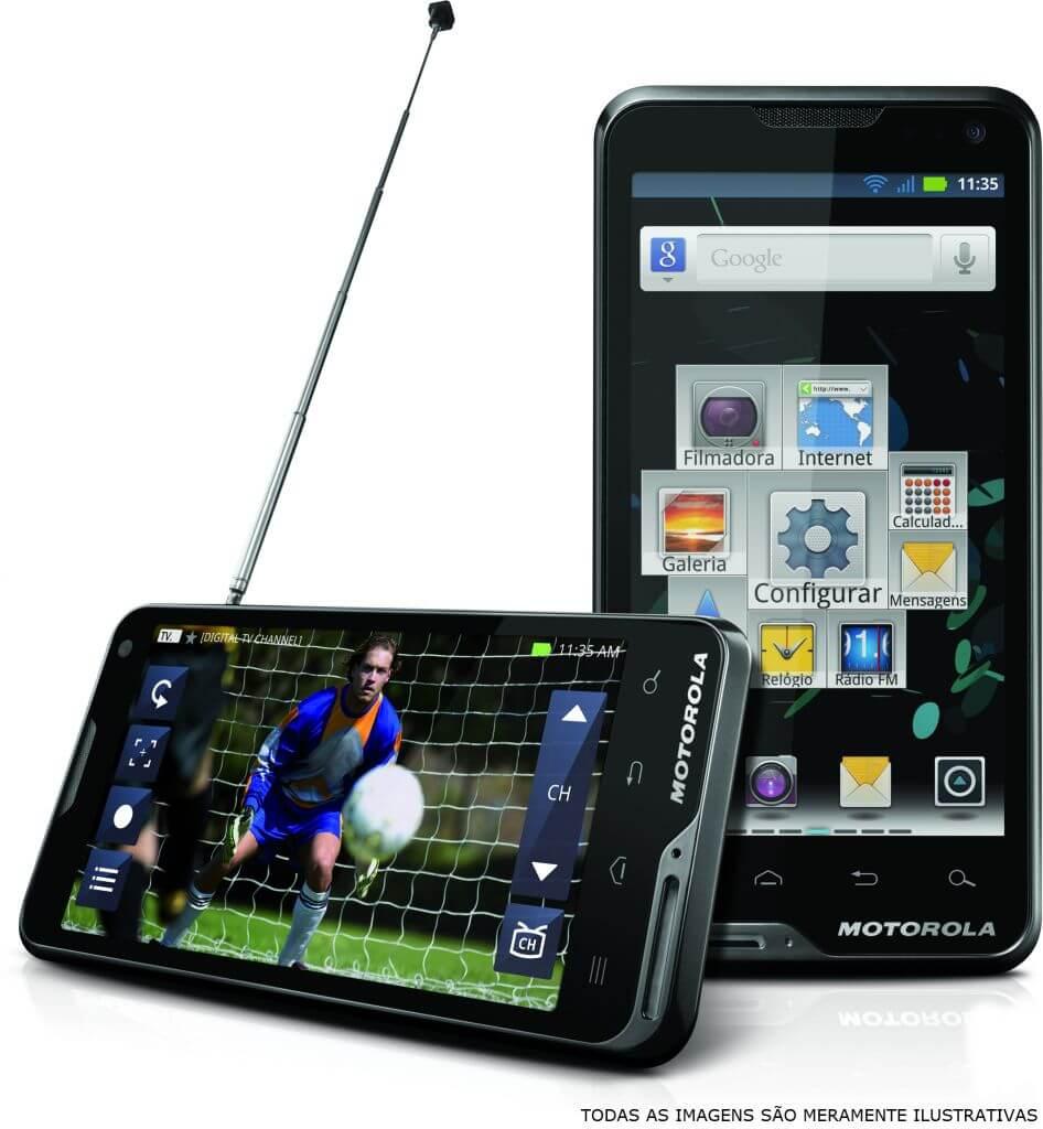 atrix tb - Motorola Atrix TV chega ao Brasil