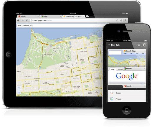 google chrome iphone ipad - Google Chrome chega ao iPhone e iPad