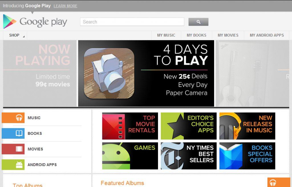 google play - A dificuldade de vender conteúdo online no Brasil