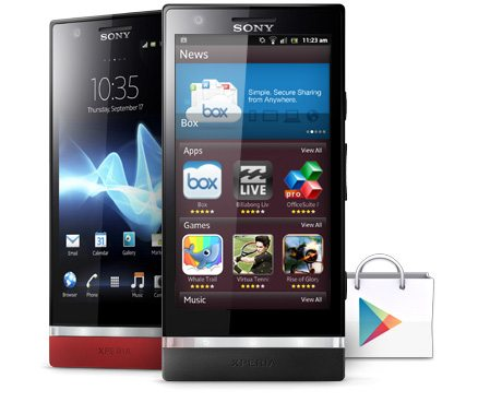 Xperia p android smartphone 2