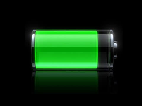 iphone battery icon