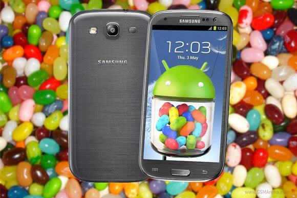 Galaxy siii android 4. 1 jelly bean