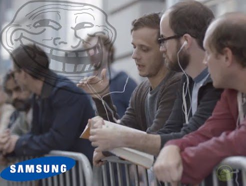 Samsung vs apple new commercial
