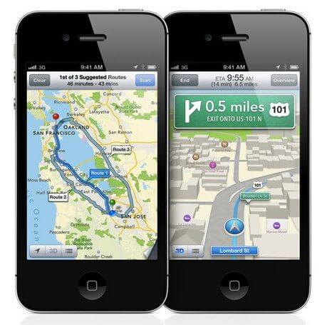 Apple ios 6 preview maps