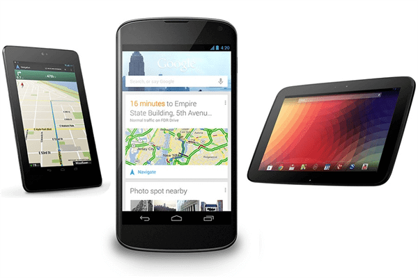 google nexus line adds new smartphone tablet