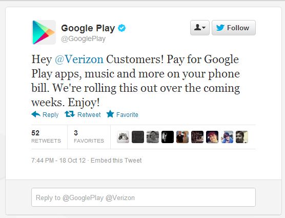 verizon google play