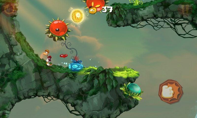 Screenshot 2012 12 26 10 54 40 - Rayman Jungle Run recebe atualização com melhorias, novas fases e desafios.