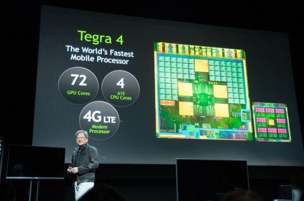 Tegra 4 o processador mobile mais rápido do mundo