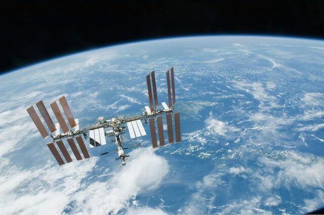 Nasa estação espacial internacional iss