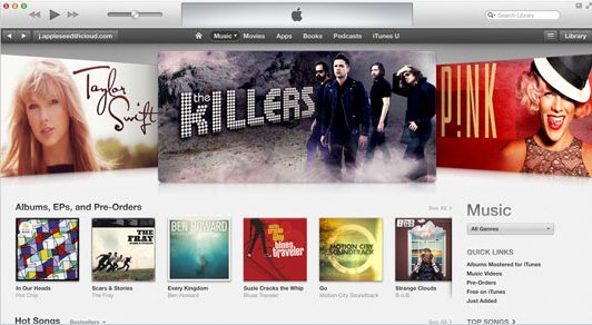 iTunes da Apple bate recorde com 25 bilhões de músicas vendidas - iTunes Store bate recorde com 25 bilhões de músicas vendidas