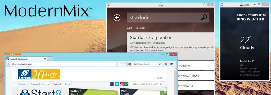 ModernMix - ModernMix permite executar apps do Windows 8 em janelas