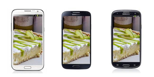 Galaxy S II e Galaxy Note receberão o Android 4.2.2, Galaxy S III, Galaxy S 4 e Galaxy Note II chegarão até o Android 5.0