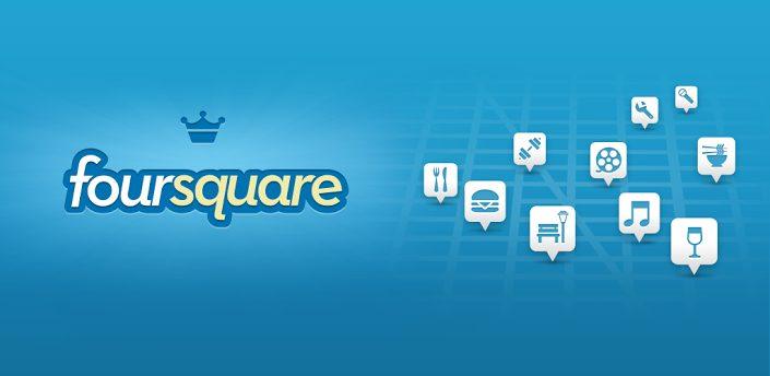 4sq - Foursquare é atualizado com novo visual
