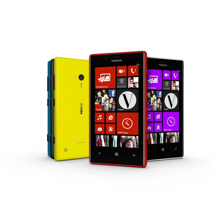 700 nokia lumia 720 color range