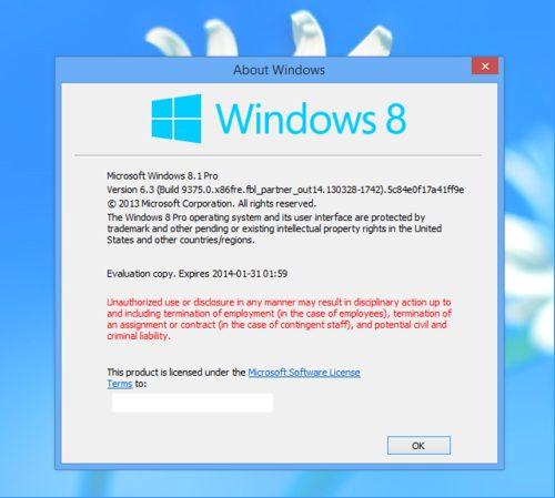 Imagem do susposto Windows 8.11 - Windows 8.1 deve ser o nome da próxima atualização do sistema operacional da Microsoft