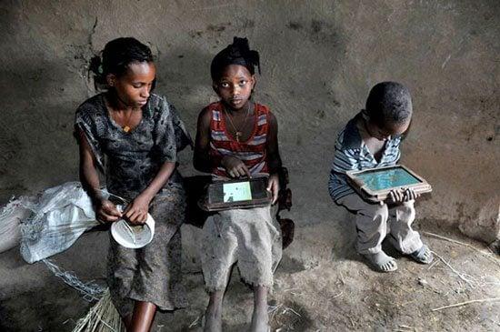 O que acontece quando a OLPC entrega 1000 tablets para uma aldeia na Etiópia