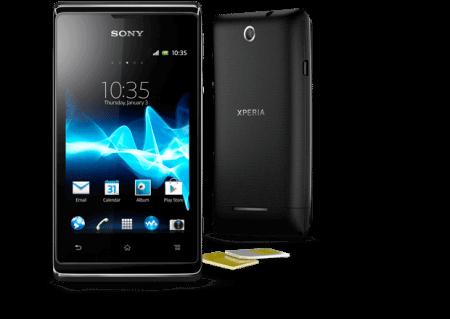 xperia e black front android smartphone 620x440 e1365038144159