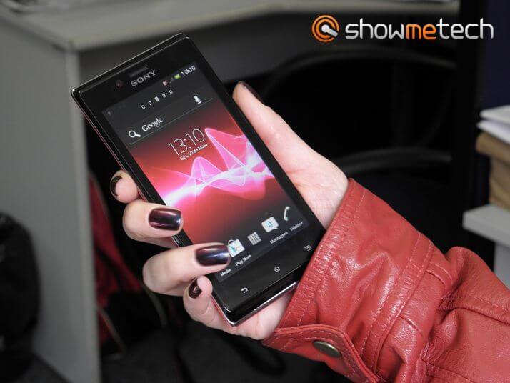P5100355a1 - Sony lança smartphone Xperia J na cor rosa para o Dia das Mães
