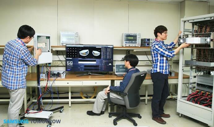 """Samsung apresenta primeiros testes da """"tecnologia 5G"""""""