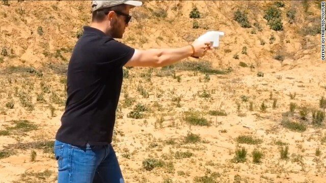 The Liberator: a primeira pistola feita por uma impressora 3D