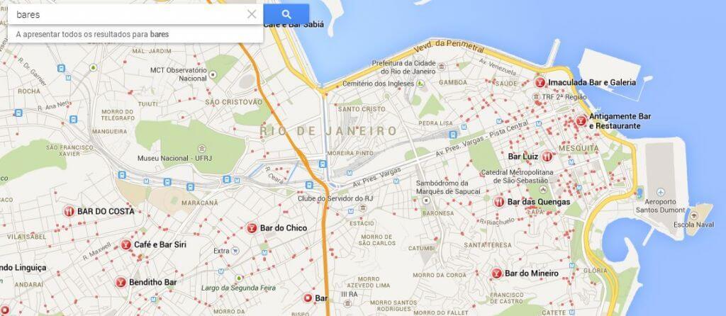 explorar bares - Preview: Testamos o Novo Google Maps