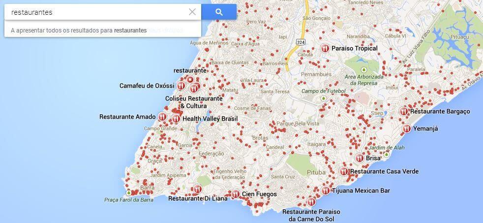 explorar restaurantes - Preview: Testamos o Novo Google Maps