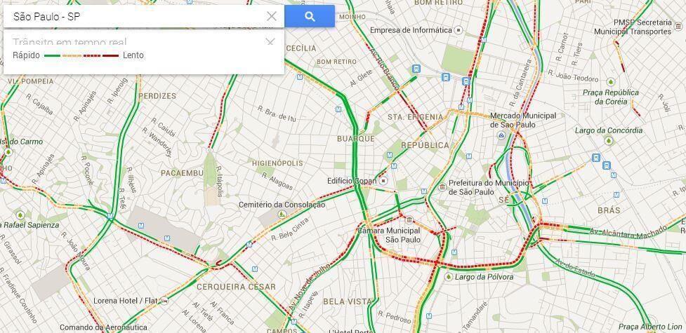 explorar transito - Preview: Testamos o Novo Google Maps