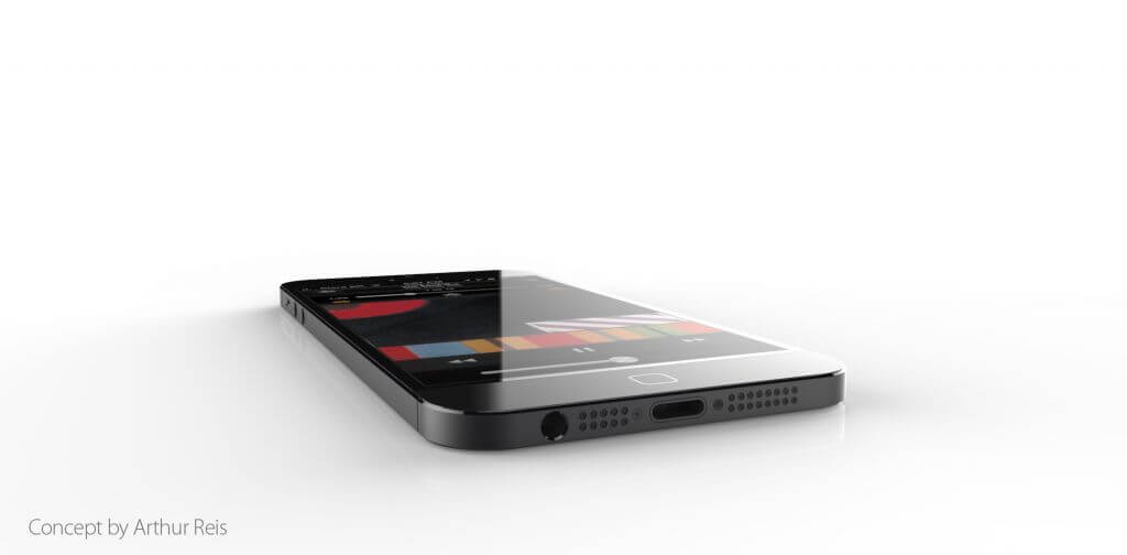 Iphone 6 concept art conceito smartphone apple 5