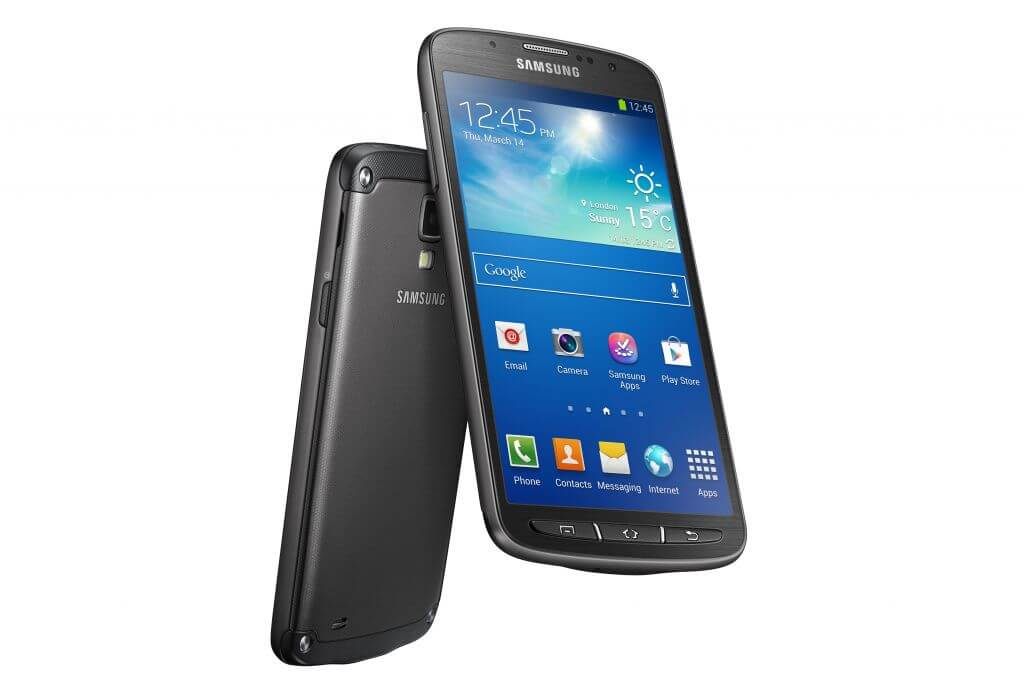 Samsung anuncia Galaxy S4 à prova d´água