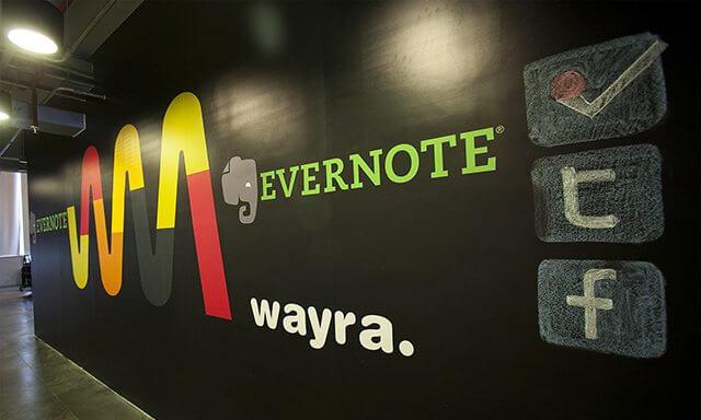 Evernote e Wayra anunciam parceria global para apoio de startups