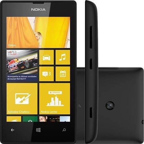 smartphone nokia lumia 520 8gb desbloqueado 7a7319155fe3a2dbbacd7e52ea48ea85