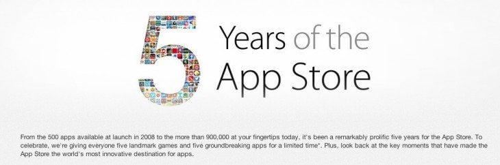 5years - 5 Anos de App Store