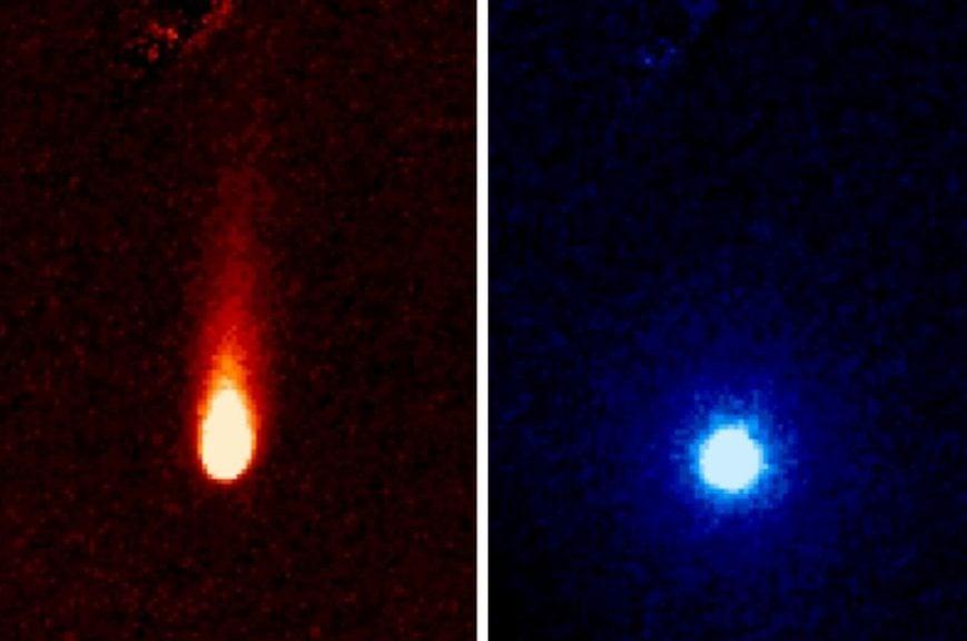 Imagens do ISON foram coletadas no dia 13 de junho / NASA/JPL-Caltech/JHUAPL/UCF