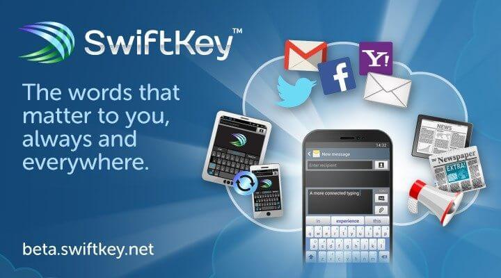 Swiftkey lança teclado que salva dicionário na nuvem