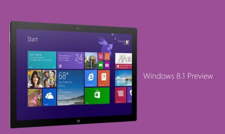 Tutorial windows 8. 1 preview 720x428