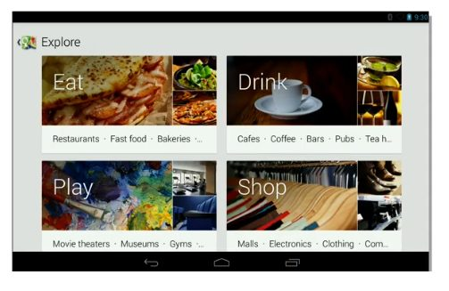 maps explore - Google apresenta o Android 4.3, novo Nexus 7, ChromeCast e outras novidades