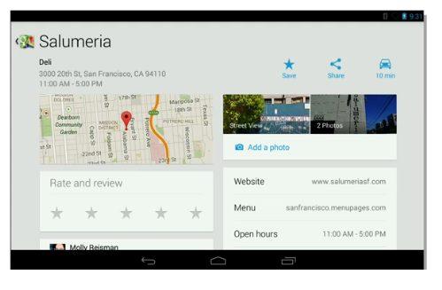 maps explore02 - Google apresenta o Android 4.3, novo Nexus 7, ChromeCast e outras novidades