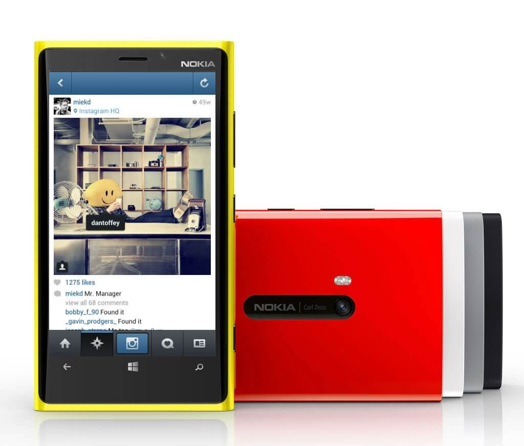 nokia lumia instagram - Instagram elimina fotos publicadas via Windows Phone