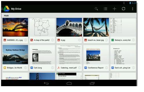 novo gdrive - Google apresenta o Android 4.3, novo Nexus 7, ChromeCast e outras novidades