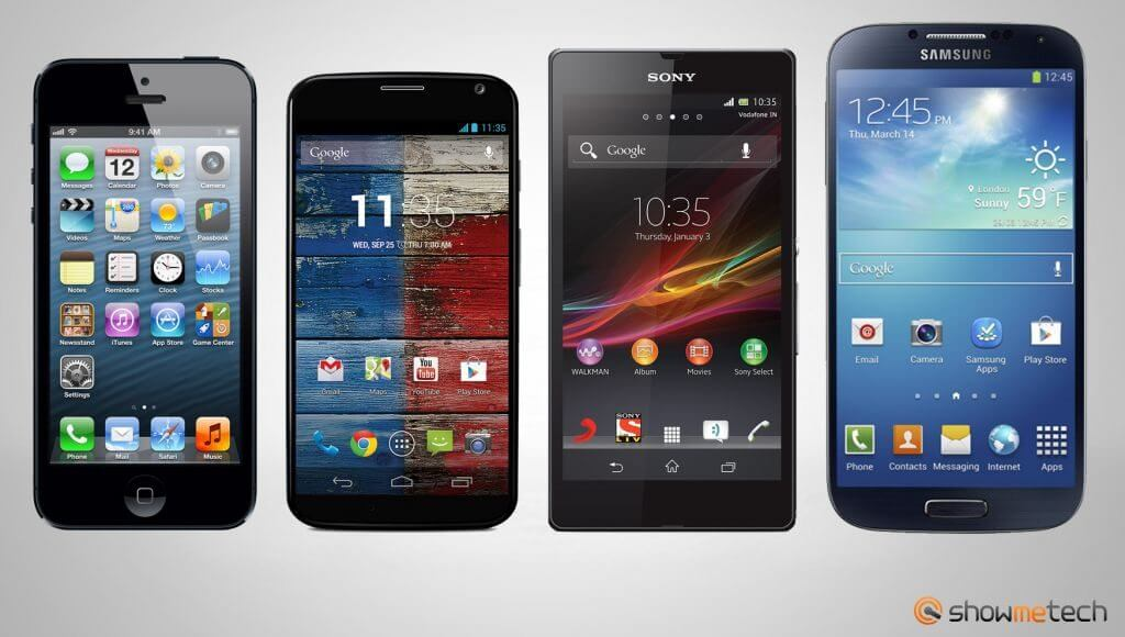 Comparativo: Moto X vs. Galaxy S4 x Xperia ZQ x iPhone 5