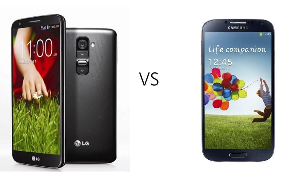 Comparativo: LG G2 vs. Samsung Galaxy S4